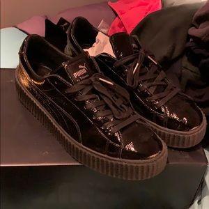 Men's patent leather Fenty sneakers!